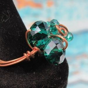 Wire Wrapped Fashion Ring